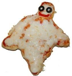 פיצה בצורת רוח רפאים