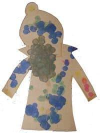 יצירה לילדים | מעיל גשם