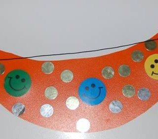 יצירה לילדים - כובע מצחיה