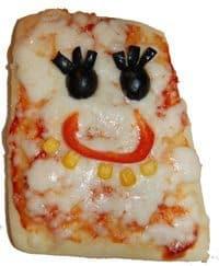 פיצה בצורת בוב ספוג