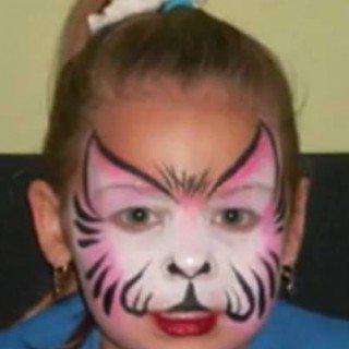איפור לפורים - איפור חתול