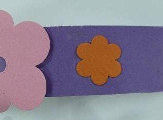 יצירה לילדים: הכנת צמיד עם פרחים