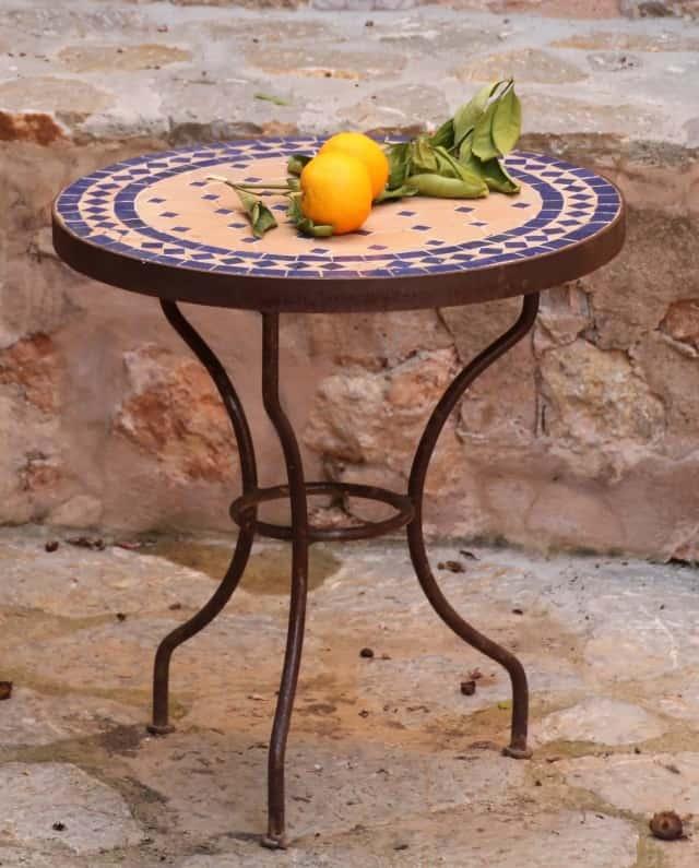 שולחן מפסיפס