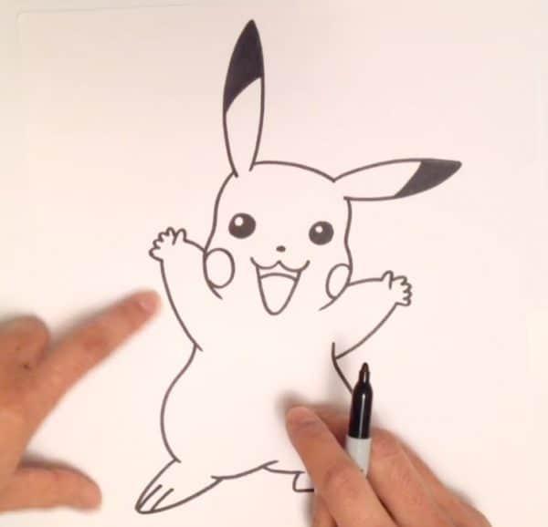 איך מציירים את פוקימון