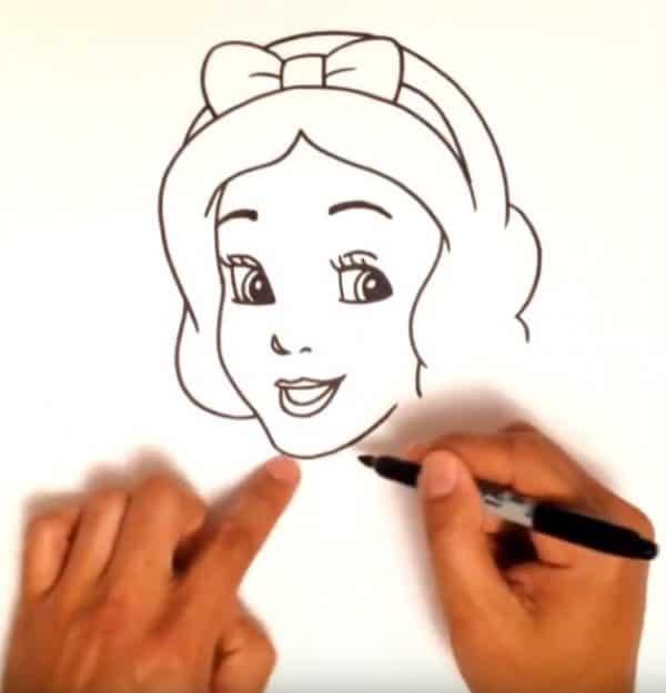 איך מציירים את שלגיה