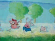 ציורי קיר לילדים