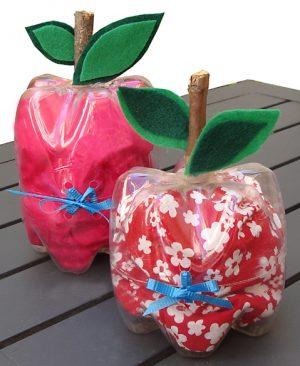 יצירה לראש השנה – תפוח ממולא בממתקים
