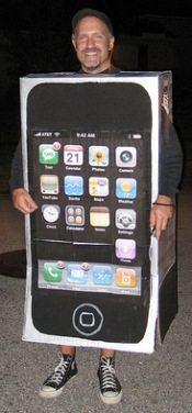 תחפושת של אייפון