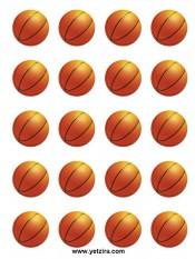 מדבקות כדורסל