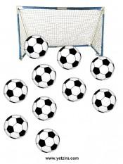 דף מדבקות כדורגל