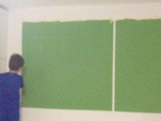 איך עושים ציור קיר